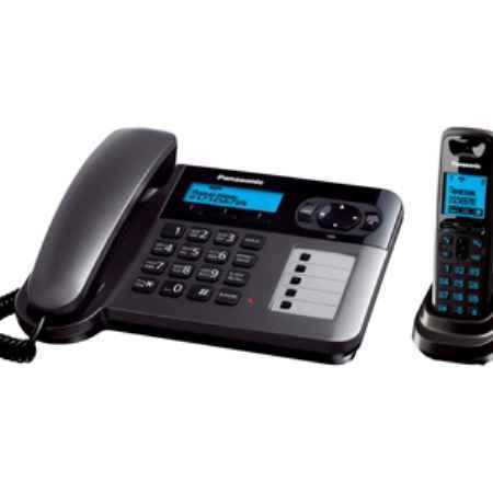 Купить Panasonic KX-TG 6451RUT серый