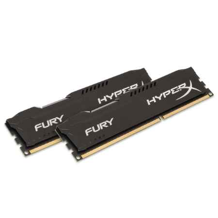 Купить Kingston HyperX Fury Black HX318C10FBK2/8