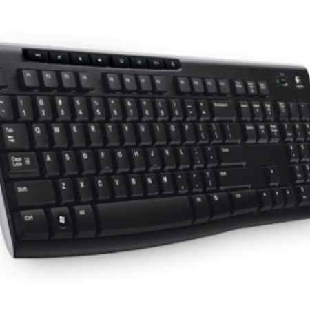 Купить Logitech Wireless K270 серый/черный