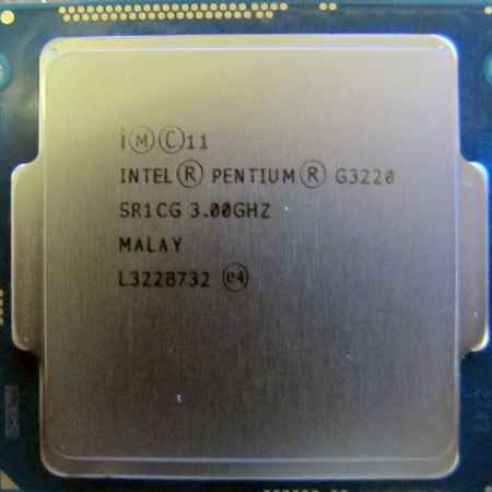 Купить Intel Pentium Dual-Core G3220 3.0 ГГц OEM