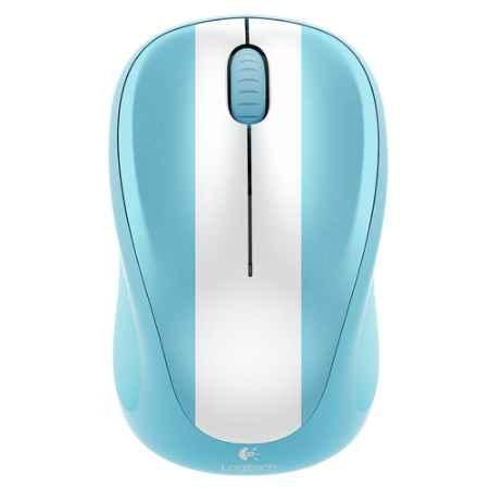 Купить Logitech Wireless Mouse M235 ARGENTINA белый/голубой