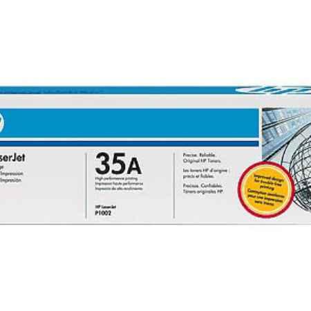 Купить HP для принтеров LaserJet P1005/P1006 35A черного цвета 1500 страниц