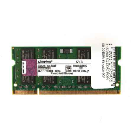 Купить Kingston ValueRAM SO-DIMM DDR2 2Gb 800MHz Non-ECC CL6 KVR800D2S6/2G KVR800D2S6/2G