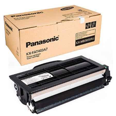 Купить Panasonic для многофункциональных устройств KX-MB3030RU KX-FAT403A7 черного цвета 8000 страниц