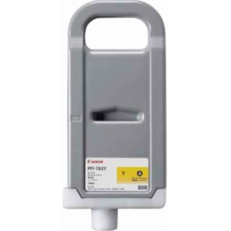 Купить Canon для принтеров IPF810, IPF820 PFI-703 желтого цвета