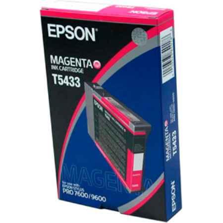 Купить Epson для принтеров Stylus Pro 7600/9600 T5433 пурпурного цвета