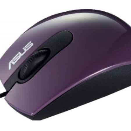 Купить Asus optical wired mouse UT-210 фиолетовый