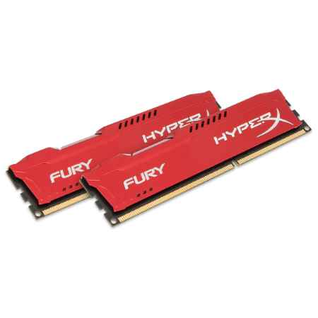 Купить Kingston HyperX Fury Red HX316C10FRK2/8
