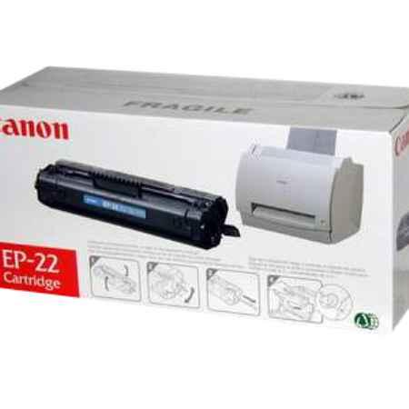 Купить Canon для принтеров LBP-800/810/1120 EP-22 черного цвета 2500 страниц