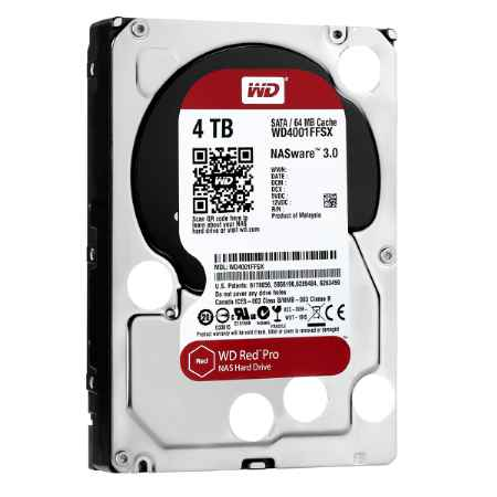 Купить Western Digital Red Pro WD4001FFSX WD4001FFSX 4 ТБ 7200 об./мин.