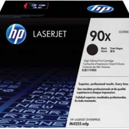 Купить HP для МФУ LaserJet M4555MFP, CE390X черного цвета 24000 страниц