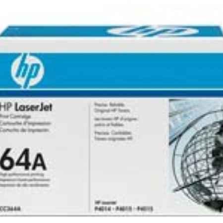 Купить HP для принтеров LaserJet P4014n CC364A черного цвета