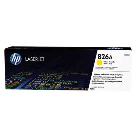 Купить HP для принтеров Color LaserJet Enterprise M855 826A желтого цвета 31500 страниц