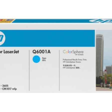 Купить HP для принтеров Color LaserJet 2600 голубого цвета 2000 страниц
