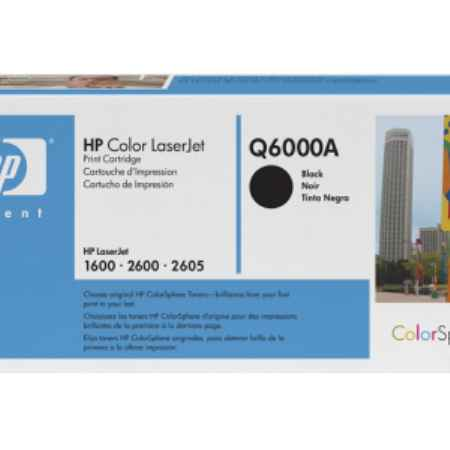 Купить HP для принтеров Color LaserJet 2600 черного цвета 2500 страниц