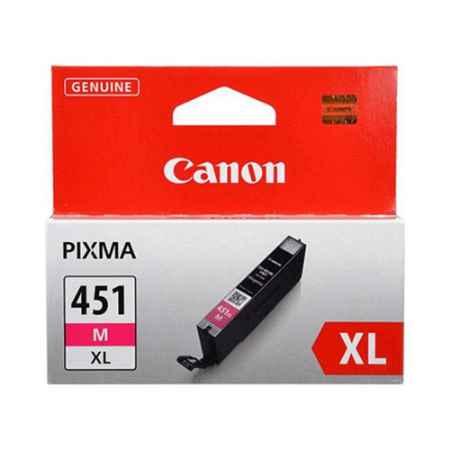 Купить Canon для принтеров Pixma iP7240/MG6340/MG5440 CLI-451M XL пурпурного цвета 4425 страниц