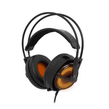 Купить SteelSeries Siberia v2 Heat оранжевого/черного цвета