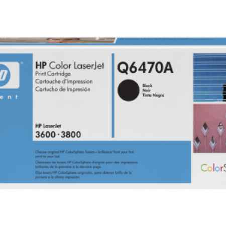 Купить HP для принтеров Color LaserJet 3600/3800 черного цвета 6000 страниц