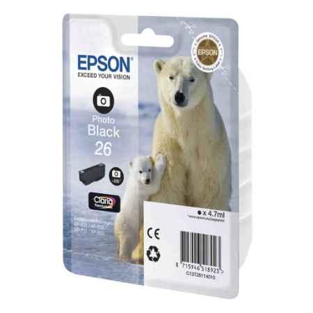 Купить Epson для Expression Premium XP-600/605/700/800 C13T26114010 черного цвета (фото) 200 страниц