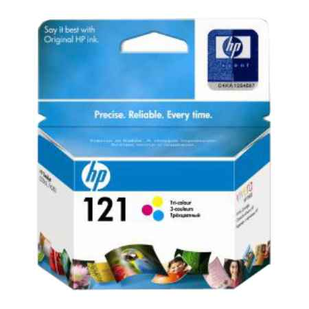 Купить HP 121 цветн. 165 страниц