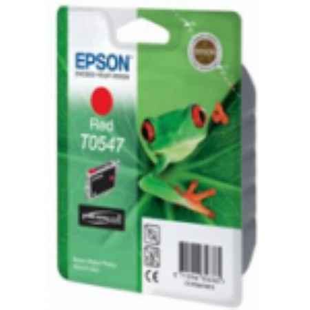 Купить Epson T05474010 красного цвета 400 страниц