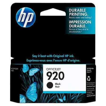 Купить HP для принтеров Officejet Pro 8000 / 8500 920 черного цвета 420 страниц