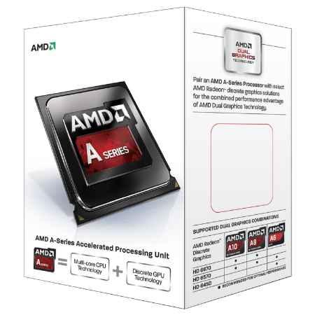 Купить AMD Quad-Core A10-6700 3.7 ГГц ret.