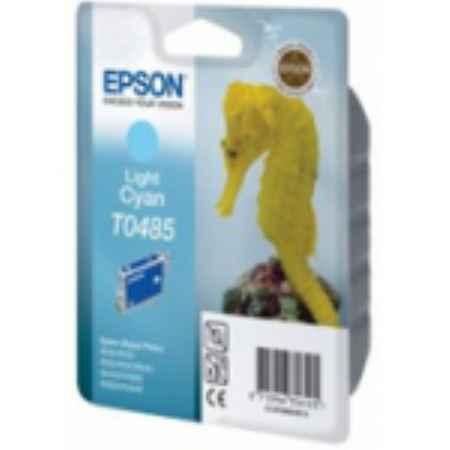 Купить Epson T04854010 светло-голубого цвета 430 страниц