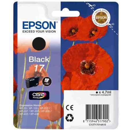 Купить Epson для Epson Expression Home XP-33 / 103 / 203 / 207 / 303 / 306 / 403 / 406 C13T17014A10 черного цвета 130 страниц