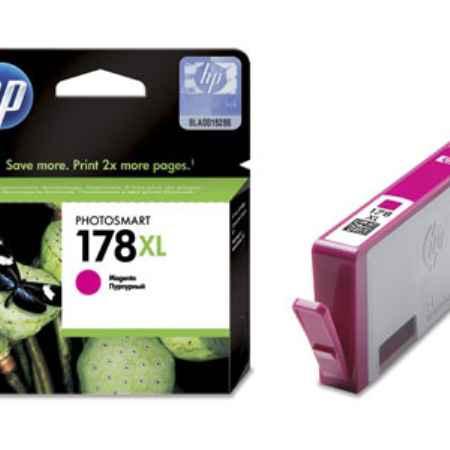 Купить HP для принтеров PhotoSmart D5463/C5383/C6383 178XL пурпурного цвета 750 страниц