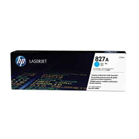 Купить HP для принтеров Color LaserJet Enterprise M880 827A голубого цвета 32000 страниц