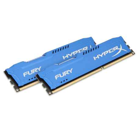 Купить Kingston HyperX Fury Blue HX318C10FK2/8