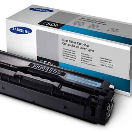 Купить Samsung для принтеров CLX-4195FN/4195FW/CLP-415N/415NW CLT-C504S голубого цвета 1800 страниц