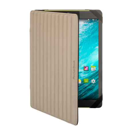 Купить PocketBook для SP4 PBPUC-S4-78-2S-BK-BE Черный / Коричневого цвета