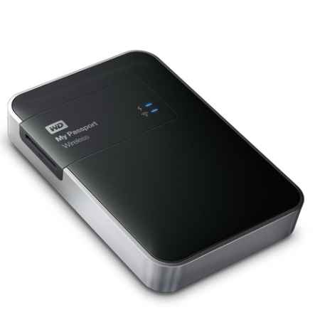 Купить Western Digital My Passport Wireless WDBDAF0020BBK-EESN WDBDAF0020BBK-EESN 2 ТБ 5400 об./мин.