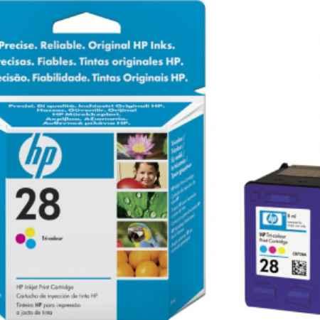 Купить HP для принтеров DeskJet 3320/3420/3425/3520/3550/3620v/3650/3745 28 цветн. 190 страниц