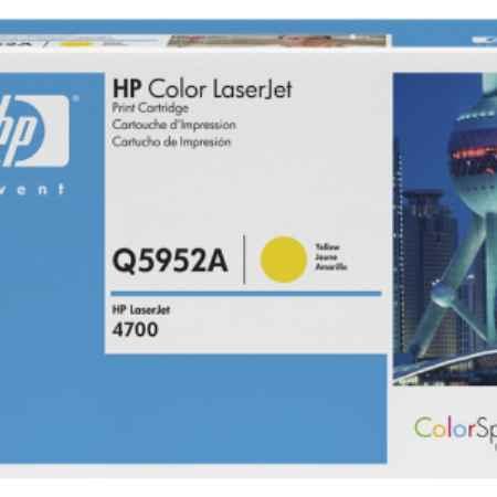 Купить HP для принтеров Color LaserJet 4700 желтого цвета 10000 страниц