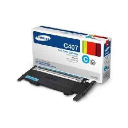 Купить Samsung для принтеров CLP-320/325W/CLX-3185 CLT-C407S голубого цвета 1000 страниц