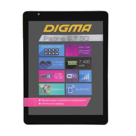 Купить Digma Platina 9.7 3G NS9797MG 16GB черный