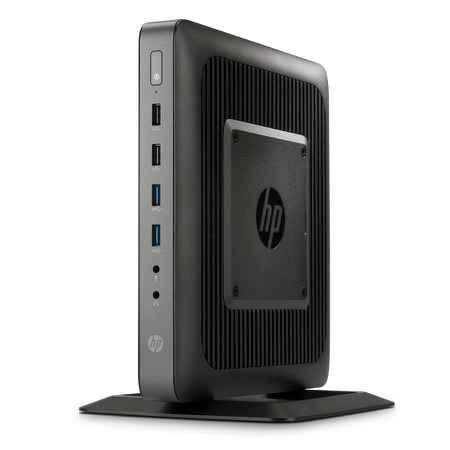 Купить HP t620 F5A56AA AMD Dual-Core / GX-217GA / 1.65 ГГц / 4 ГБ PC3-12800 DDR3 SDRAM / 16 ГБ / AMD Radeon HD 8280E / HP ThinPro / настольный slim