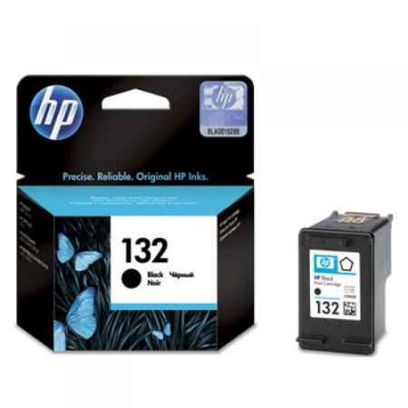 Купить HP 132 черного цвета 220 страниц