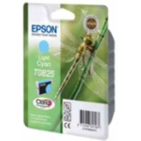 Купить Epson T0825 светло-голубого цвета 410 страниц