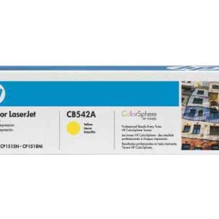Купить HP для принтеров LaserJet CP1215/CP1515n/CP1518ni и многофункциональных устройств CM1312 желтого цвета 1400 страниц