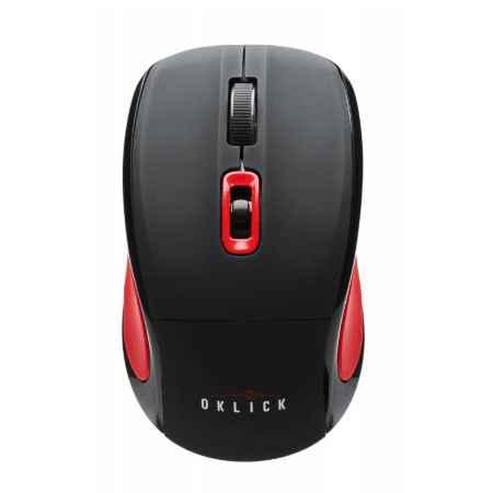 Купить Oklick 425MW красный/черный