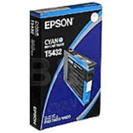Купить Epson для принтеров Stylus Pro 7600/9600 T5432 голубого цвета