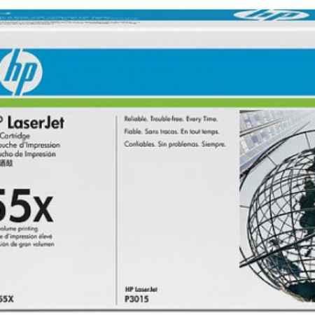 Купить HP для принтеров LaserJet P3015d/P3015dn/P3015x 55x черного цвета 12500 страниц