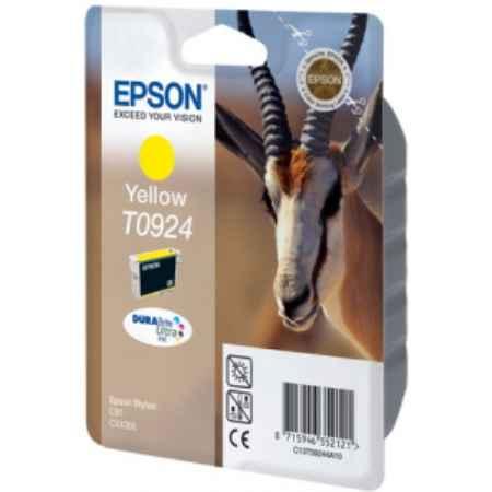 Купить Epson для принтеров Stylus C91/CX4300 T0924 желтого цвета 475 страниц