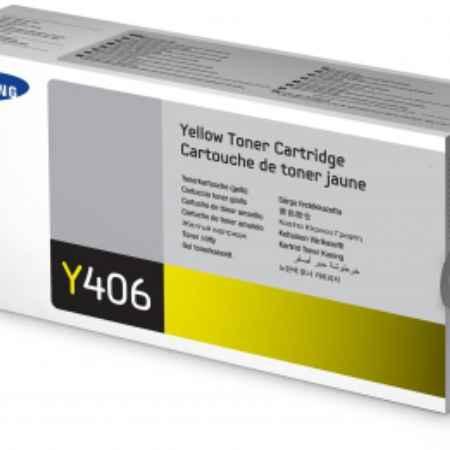 Купить Samsung CLT-Y406S желтого цвета 1000 страниц