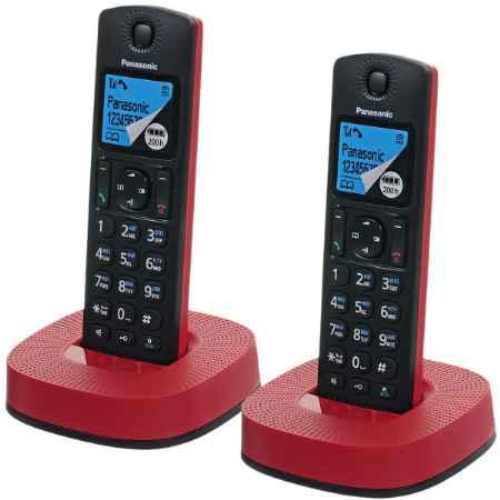 Купить Panasonic KX-TGC312RUR красный/черный