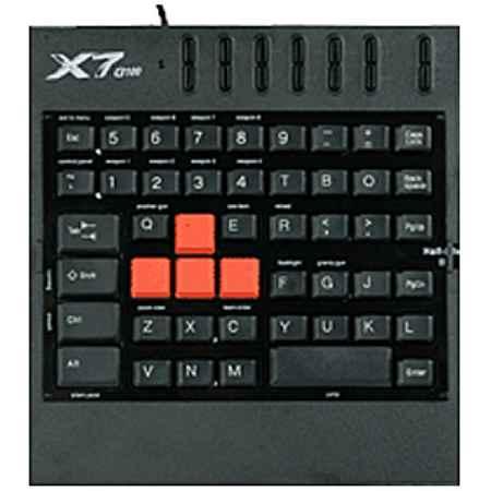 Купить A4Tech X7 G100 черный